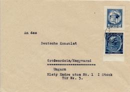 PRAG  - 1941 , Brief Nach Grosswardein / Nagyvarad / Ungarn - Briefe U. Dokumente