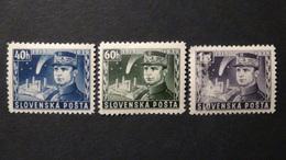 Slovakia - 1939 - Mi:SK I-II - Yt:SK 32-34*MH - Look Scan - Gebraucht