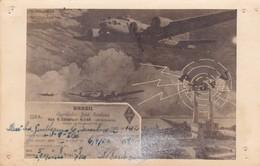 BRASIL. AGOSTINHO JOSE BARBOSA QRA. URUGUAIANA. CIRCULEE 1952 A POSADAS, MISIONES(ARGENTINE). RARE-BLEUP - Brazilië