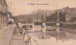 Thuin. Pont De La Sambre---scan-- - Thuin