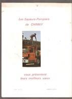 Calendrier 1984 - LES SAPEURS-POMPIERS DE CHIMAY - Grand Format : 1981-90