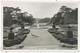 Warwick Castle, The Terrace Garden And River Vista - Warwick