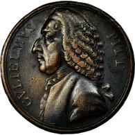 United States Of America, Médaille, William Pitt, TTB, Cuivre - Etats-Unis