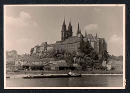 B9899 - TOP Foto Meissen Albrechtsburg - Elbeschifffahrt Schifffahrt Schlepper - Vintage - Fotografie