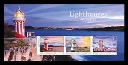 Australia 2018 Mih. 4869/71 (Bl.440) Lighthouses Of Sydney MNH ** - Neufs