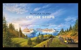 Norfolk Island 2018 Mih. 1280/81 (Bl.70) Cruise Ships MNH ** - Ile Norfolk