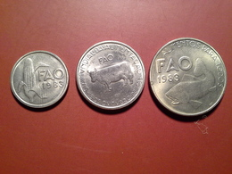 2,5 Esc.1983 Fao, 5 Esc. 1983 Fao,  25 Esc. 1983 Fao - Portugal