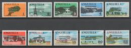 Anguilla 1969 Mi# 53-62** DEFINITIVES, INDEPENDENCE - Anguilla (1968-...)