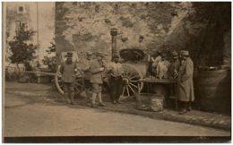 Groupe De Soldats - Cantine - Guerre 1914-18