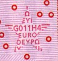 ♦ Netherlands 10P ♦ G011 ♦ UNC ♦ Trichet Signature B - EURO