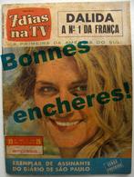 BRÉSIL & ITALIE Lot De 2 Revues Dalida - Cinema & Television