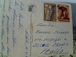 CARD STAMP SELO TIMBRE Grèce Hellas 1970 Y&T N°1032 Oblitéré  Gestempelt UPU +2,50d Hercules And The Erymanthian GX5965 - Grecia