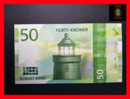 NORWAY 50 Kroner 2017 Issued 2018  NEW  UNC - Norwegen