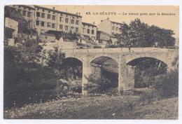 LA SEAUVE Sur SEMENE - Le Vieux Pont Sur La Semène -1930- Bon état - France