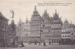 Antwerpen, Anvers, Standbeeld Van Barbo En Gildenhuizen (pk51402) - Antwerpen