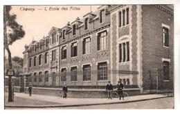 + 1587, Feldpost, Chauny - Chauny