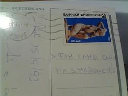 CARD STAMP SELO TIMBRE Grèce Hellas 1993 Venere Di Rodi  GX5973 - Grecia