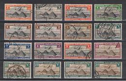 EGITTO:  1933/38  P.A. DEFINITIVA  -  LOTTO  32  VAL. US. -  YV/TELL. 5//28 - Poste Aérienne