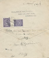 Turchia Turkey 1924 Cover From ADANA To CHICAGO , U.S.A - Usados