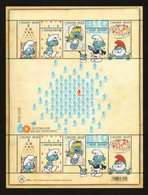 BELGIE SMURFEN MNH** SANS CHARNIERE GOMME ORIGINE POSTALE TB VF - Blocs 1962-....