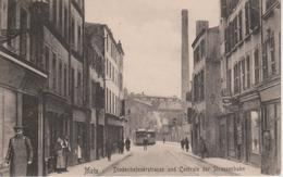 57 - METZ - RUE DE THIONVILLE ET CENTRALE DU TRAMWAY - Metz