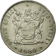 Monnaie, Afrique Du Sud, 10 Cents, 1989, TTB, Nickel, KM:85 - Afrique Du Sud