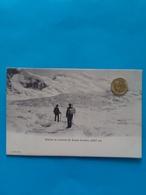Glacier Et Sommet Du Grand Combin, Bergsteiger, Ca. Um 1910 - VS Valais