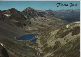 Flüela-Pass - Flüela-Hospiz Gegen Sentisch-Horn - Davos - GR Graubünden