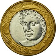 Monnaie, Brésil, Real, 2006, Rio De Janeiro, TTB, Bi-Metallic, KM:652a - Brazil