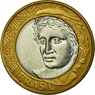 Monnaie, Brésil, Real, 2006, Rio De Janeiro, TTB, Bi-Metallic, KM:652a - Brésil