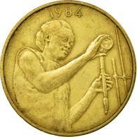 Monnaie, West African States, 25 Francs, 1984, Paris, TB+, Aluminum-Bronze, KM:9 - Côte-d'Ivoire
