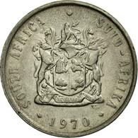 Monnaie, Afrique Du Sud, 10 Cents, 1970, TB+, Nickel, KM:85 - Afrique Du Sud