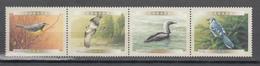 Canada 2000,4V In Strip,birds,vogels,vögel,oiseaux,pajaros,uccelli,aves,MNH/Postfris(L3390) - Vogels
