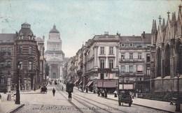 Brussel, Bruxelles, Rue De La Regence Et Palais De Justice (pk51464) - Lanen, Boulevards