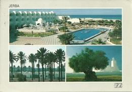 """Jerba (Tunisia) Hotel Palm Beach, Views, Vues, Thematic Stamps """"Costume De Mariage"""" - Tunisia"""