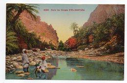 Algérie -- EL KANTARA --KANTARA --GANTARA --1945 ---Dans Les Gorges D'EL KANTARA  ( Animée) ..........  à Saisir - Autres Villes