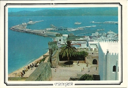 Tanger (Marocco) View Of The Harbour, Vue Du Port, Scorcio Panoramico Del Porto - Tanger