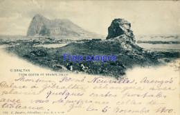 GI - Gibraltar - From Queen Of Spain's Chair - 1900 - Gibraltar