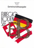 Gezamenlijke Uitgave - Carnet - Duitsland/Oostenrijk/Zwitserland - Euregio Bodensee - M 1678/2096/1501 - Gezamelijke Uitgaven