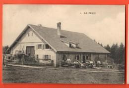TRD-25  Ferme De La Pluie Vers Le Locle, Animé. Circulé - NE Neuchâtel