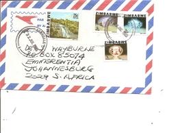 Zimbabwe ( Lettre Par Avion De 1985 De Avondale Vers L'Afrique Du Sud à Voir) - Zimbabwe (1980-...)