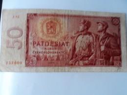 TCHEQUESLOVAQUIE 50 KORUN - Slovaquie
