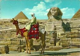 Giza (Egypt) The Great Sphinx And Mykerinos Pyramid, Sfinge E Piramide Di Micerinos - Gizeh