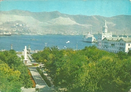 Novorossijsk (Russia, URSS) Partia View Of The Harbour, Vue Du Port, Scorcio Panoramico Del Porto - Russia