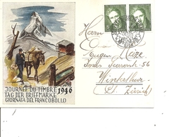 Suisse -Journée Du Timbre ( Carte Commémorative De 1946 à Voir) - Svizzera