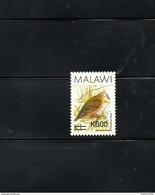 "MALAWI, 2017, BIRD- III, O/P, NEW VALUE, ""600"" 1v. MNH** - Oiseaux"