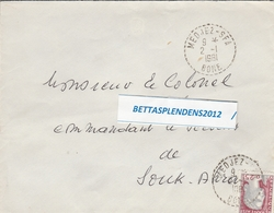 LSC 1961 - Cachet Perlé - MEDJEZ  SFA  - BONE - Algérie (1924-1962)