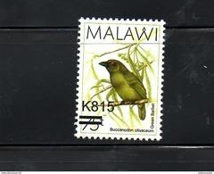 "MALAWI, 2016, BIRD, O/P, NEW VALUE, ""815"" 1v. MNH** - Oiseaux"