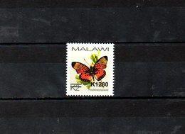 "MALAWI, 2018, BUTTERFLY, O/P, NEW VALUE, ""k1280"" 1v. MNH** NEW! - Butterflies"