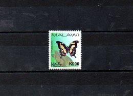 """MALAWI, 2018, BUTTERFLY, O/P, NEW VALUE, """"k900"""" 1v. MNH** NEW! - Vlinders"""